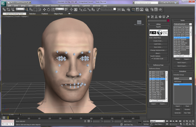 FaceFX® Plugin for Autodesk® 3ds Max® In Action
