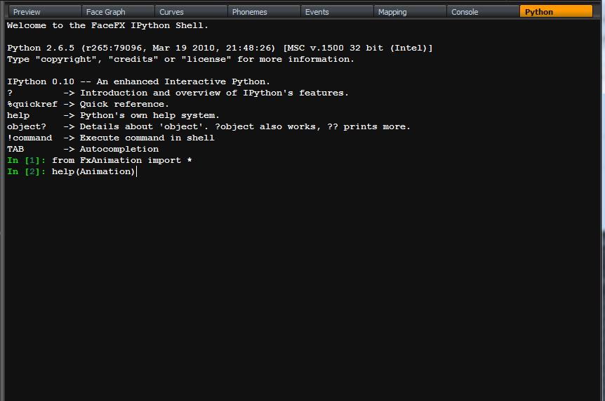 Image Python Script Language